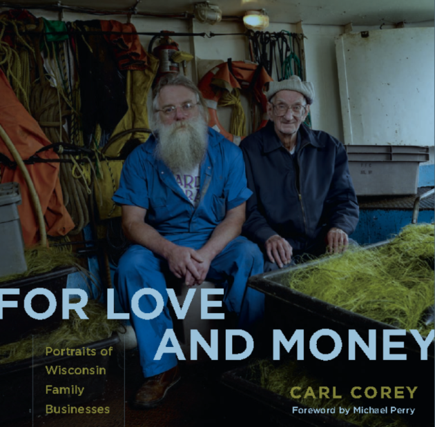 Carl Corey - For Love and Money - Front Cover