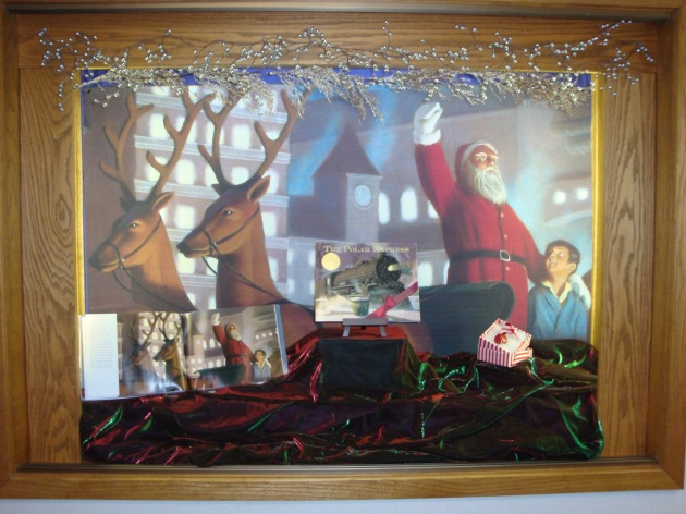 Polar Express Lobby Display